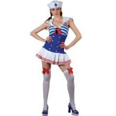 Shipmate Cutie Sailor Girl Costume (SF0052)